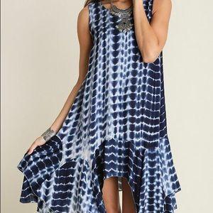 Umgee Navy / white summer dress